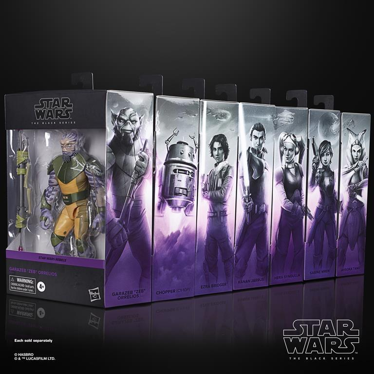 Star Wars Black Packaging Revealed with a Surprise!