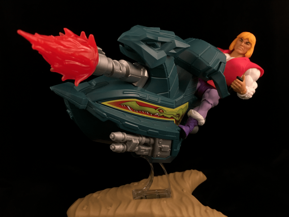 MOTU Origins Prince Adam Sky Sled Review