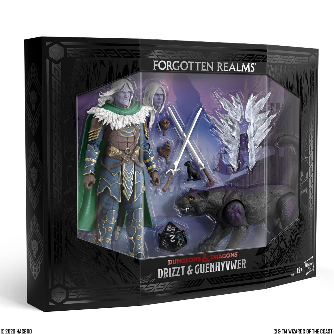 Dungeons & Dragons Drizzt and Guenhwyvar