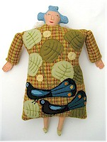 Fairy grandmother doll by Mimi Kirchner