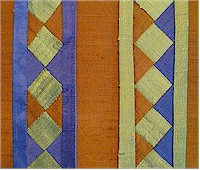 Example of Seminole piecing