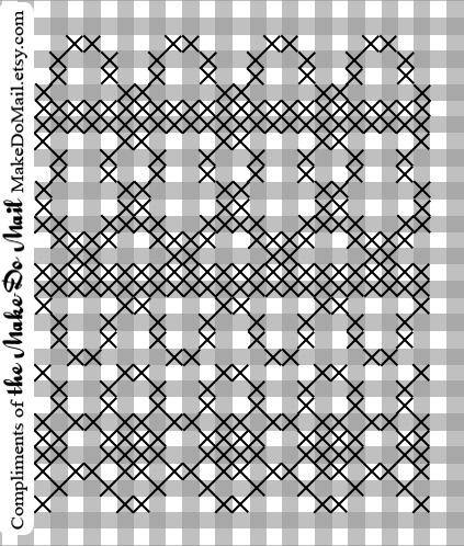 Free border pattern from Jenna Z of CorgiPants blog and Make-Do Mercantile