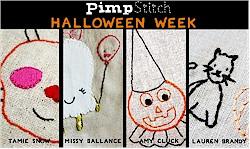 Halloween Week at Pimp Stitch