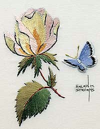 Needlework and photo by Helen Stevens