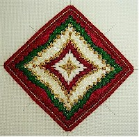 Designed, stitched, and photographed by Judy of FREEBIES, etc.!