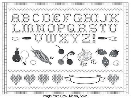 Free pattern: Sew-Along Sampler