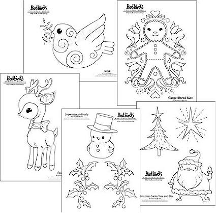 New Christmas patterns from Badbird