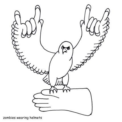 Free pattern: Rock 'n' Roll Falcon