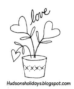 Free pattern: Love
