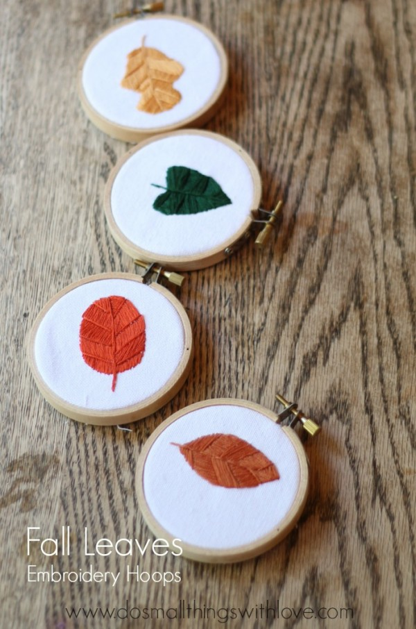 fall-leaves-embroidery-hoops