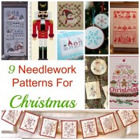 9 Needlework Patterns For Christmas