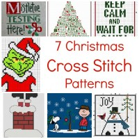 7 Fun Christmas Cross Stitch Patterns