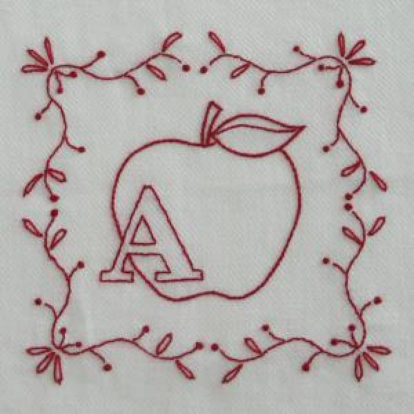Simply adorable redwork patterns needle work