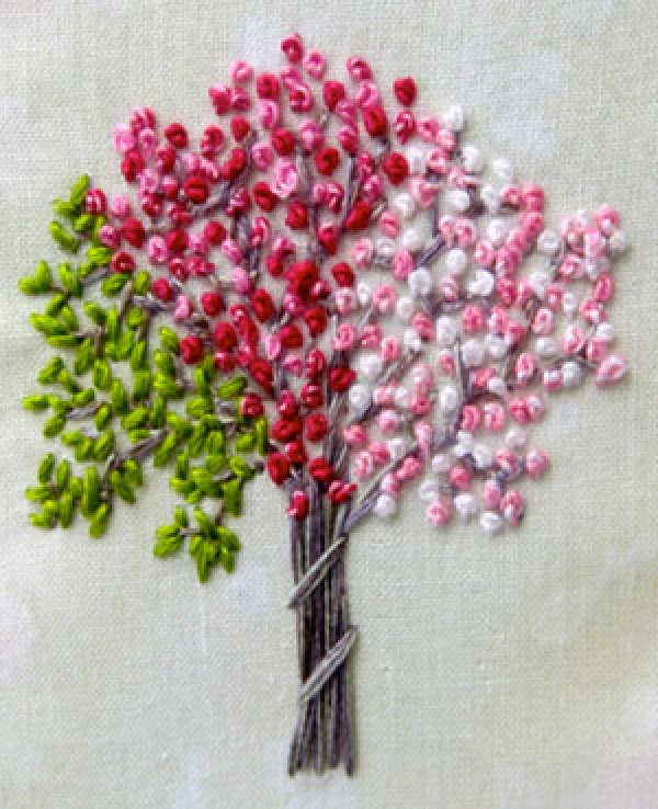 French Knot Embroidery Designs Ausbeta