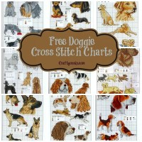 Free Dog Cross Stitch Charts