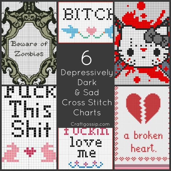 sad-depression-free-cross-stitch-charts-fuck-shit-hatred