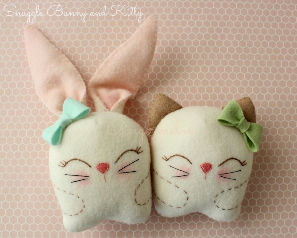 snuggle bunny and kitty1