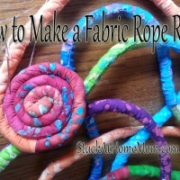 How To Make A Fabric Rope Rug