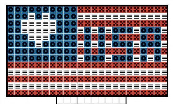 American-Flag-Plastic-Canvas-Diagram