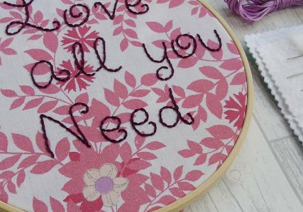 Free Pattern – All You Need Is Love