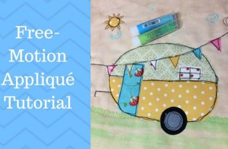 Free Motion Caravan Embroidery Video