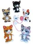 Plastic Canvas Amigurumi Kittens Pattern