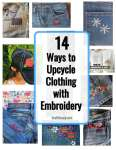 14 Ways to Do Embroidery on Clothing - Free Tutorials