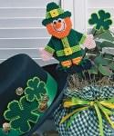 Saint Patrick's Plastic Canvas Leprechaun Pattern