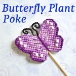 Plastic Canvas Butterfly - Free Pattern