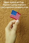 American Flag Plastic Canvas Design - Free Pattern