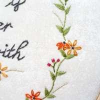 Beginner Flower Embroidery Pattern