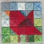 How to Make a Needlepoint Cardinal - Free Pattern