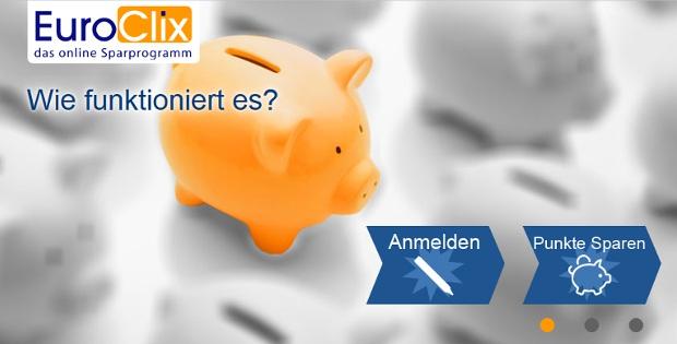 Euroclix: Geld verdienen durch Bonus- und Rabattaktionen