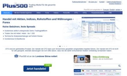 Plus500 spendiert neuen Tradern 25 Euro Willkommensbonus
