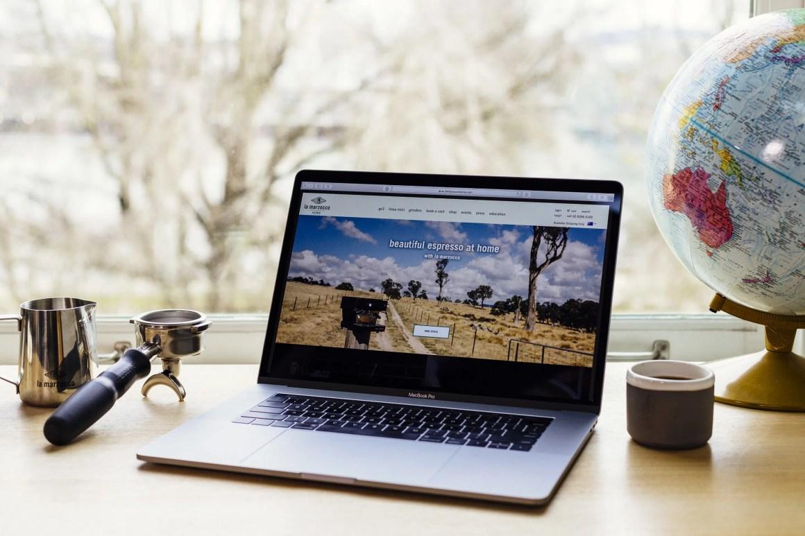 La Marzocco Home Australia website