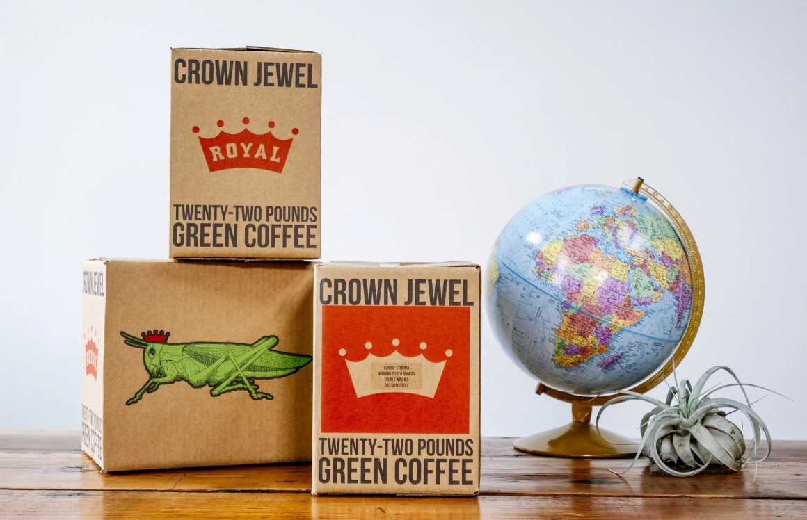 Royal Coffee Crown Jewel boxes