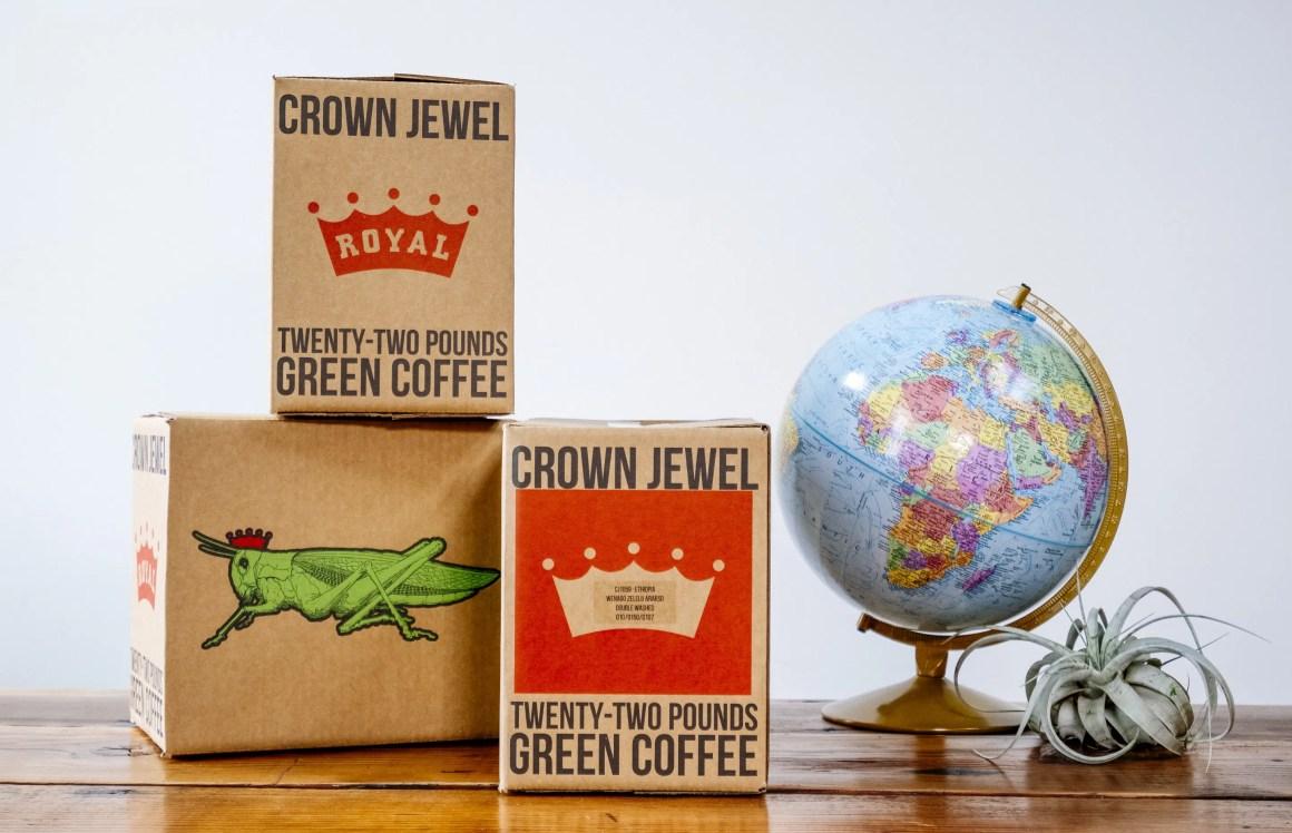 Royal Coffee Crown Jewel boxes