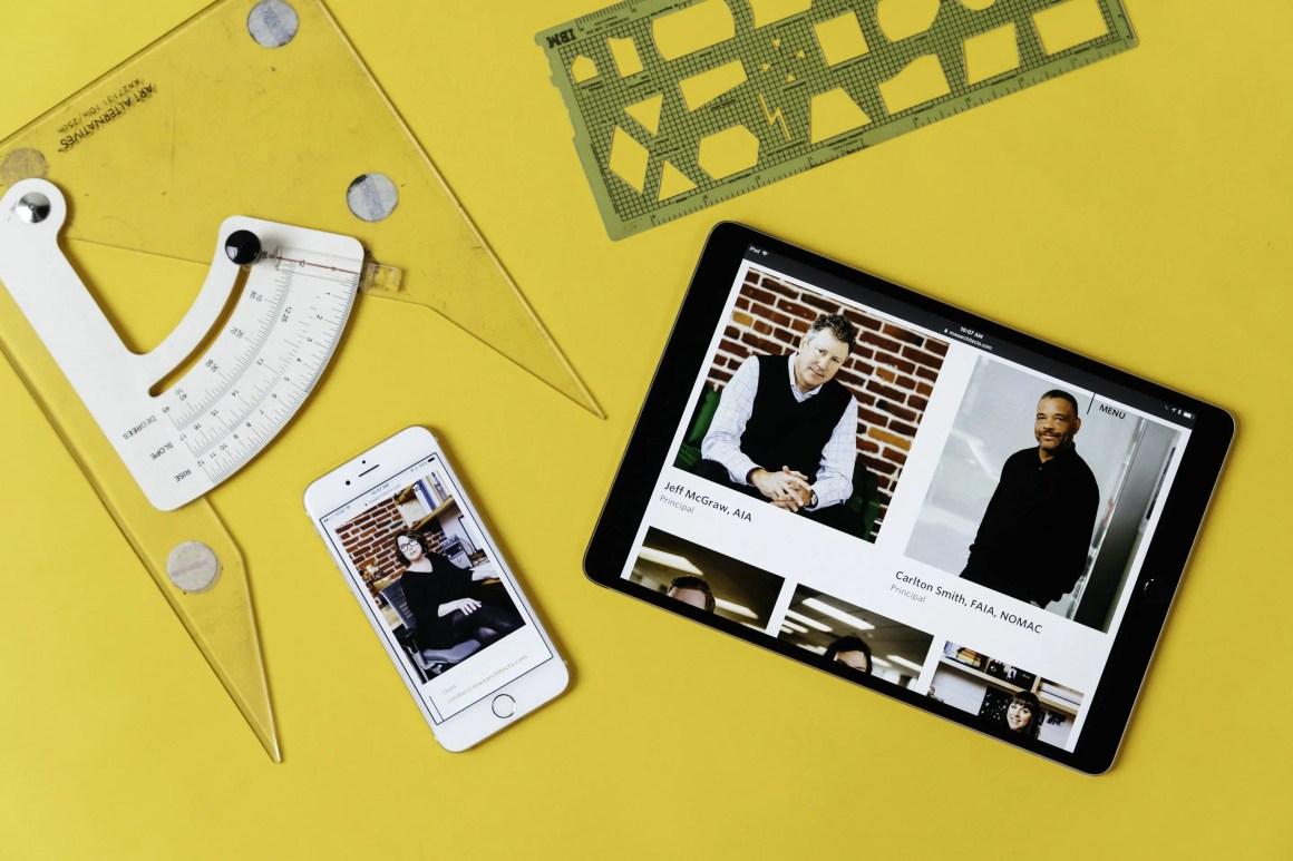 MWA Architects website + team photos by Needmore Designs