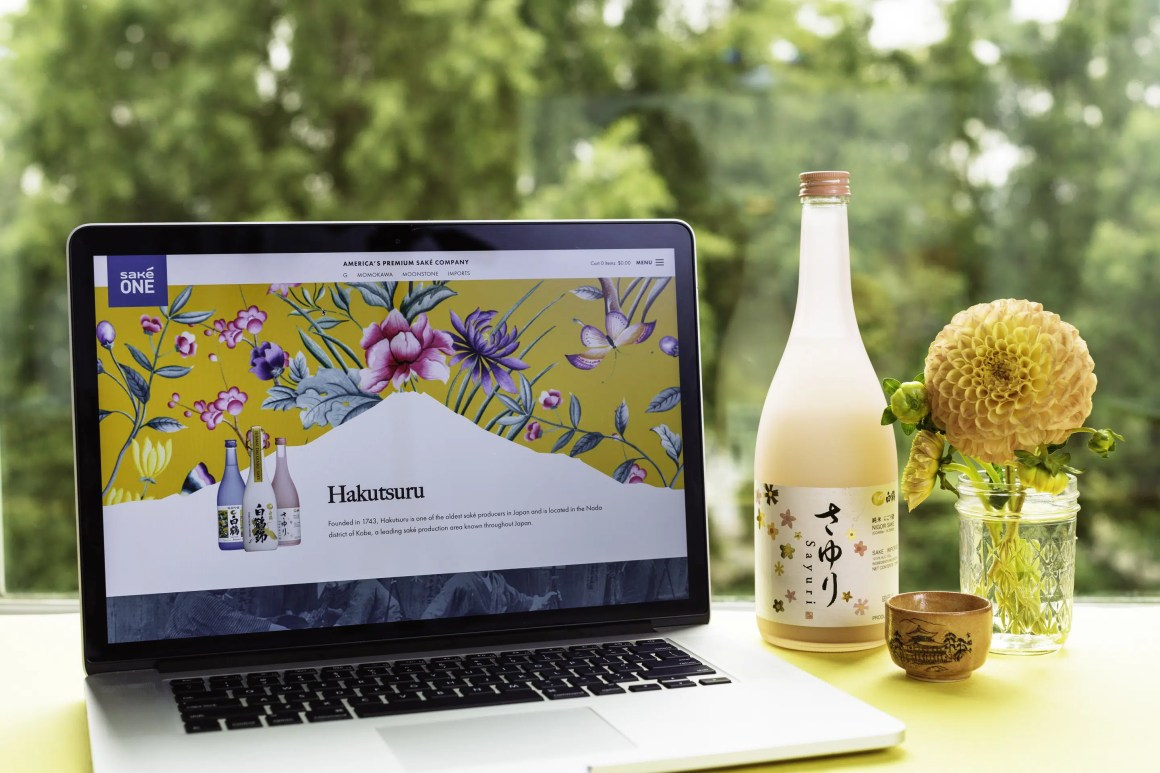 Hakutsuru on SakéOne's website