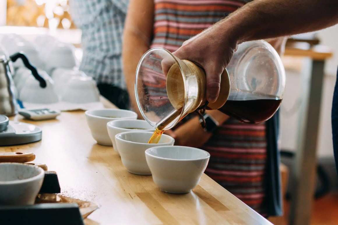 Cupping at Royal Coffee Importer