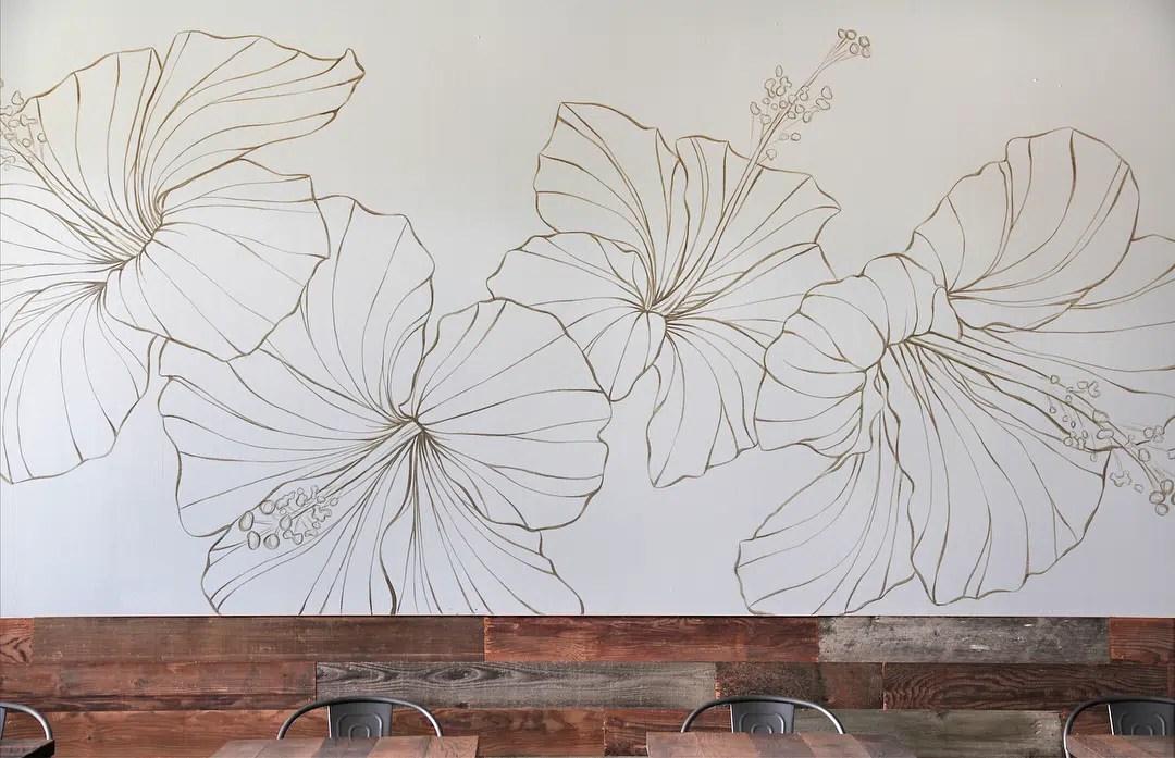 Hapa mural close