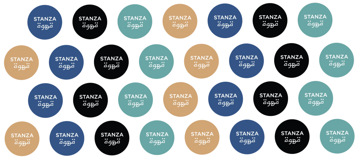 social media icons for stanza