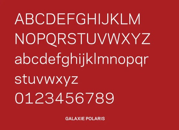 Galaxie Polaris Font