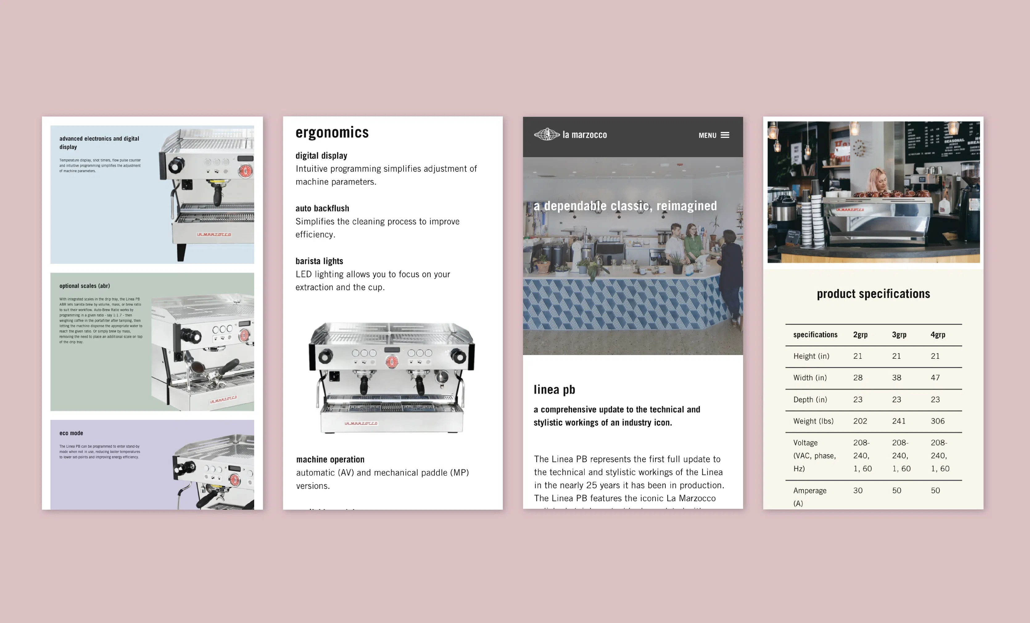 Mobile Version of individual product page
