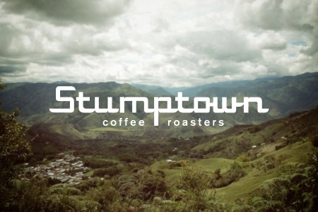 Original Stumptown Coffee Roasters logo by Needmore Designs