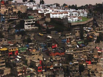 Rich and Poor on Top of the Old Garbage Dump of Mexico city/Mexico Monica Alexandra Terrazas Galvan, Mexico