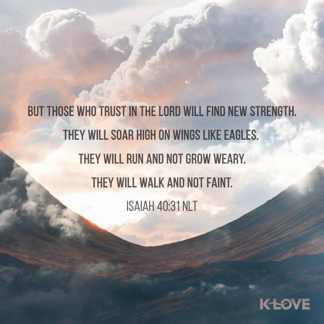 Trusting God Brings Strength