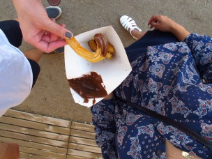 churros + nutella = heaven on earth.