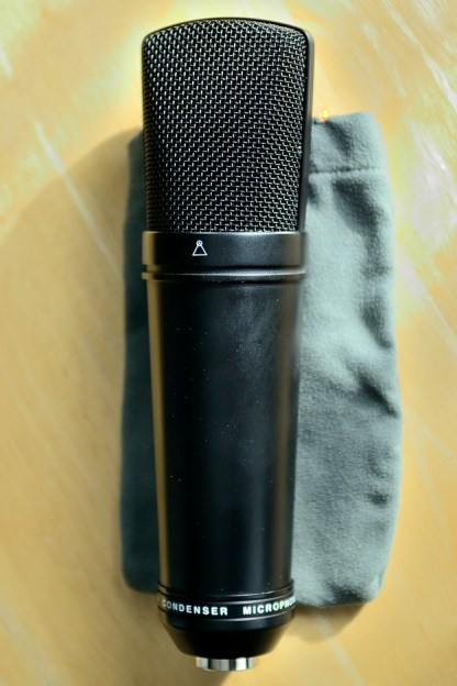 Apex 430 microphone back