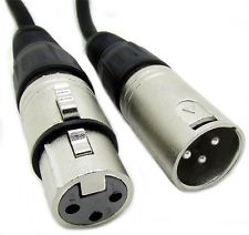 Typical XLR mic cable
